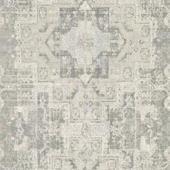 Rasch Textil Boho Chic 23-148655 Grafiktapete sandgrau Muster