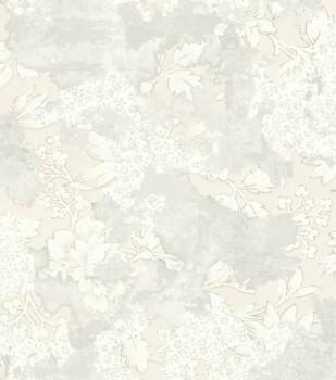 Rasch Ylvie 7-802528 Vliestapete Blumenmuster creme-weiß Putz