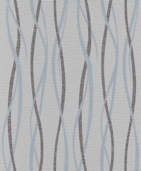 Erismann Sevilla 33-5987-10, 598710 Vliestapete grau Streifen Schlafzimmer