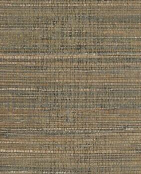 55-389528 Eijffinger Natural Wallcoverings II Naturtapete glitzer braun