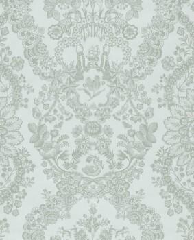 Eijffinger PIP Studio 55-375041, Vliestapete hellblau Blumen Ornamente