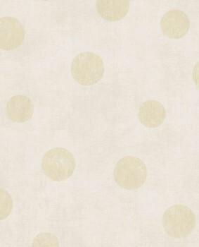 Eijffinger Lino 55-379040 Vliestapete beige Punkte gold