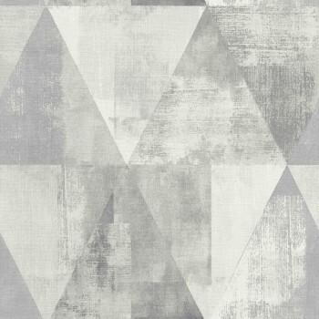 Hyde Park Rasch 7-410945 grau Tapete Muster-Tapete Dreieck