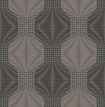 Rasch Textil 23-022634 Gravity Vliestapete grau Retro Muster