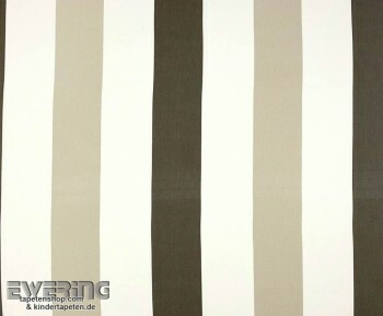 Texdecor Casadeco - Marina 36-MRN25211303 Streifen grau Stoff