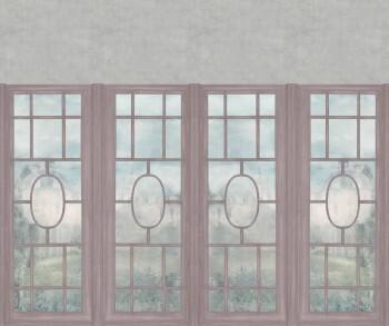 Fensterfront Wandbild Beige Altrosa Tenue de Ville ODE 62-ODED190512