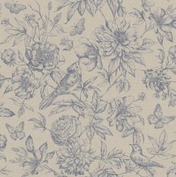 Rasch Florentine II 7-449471 Vliestapete beige Wohnzimmer