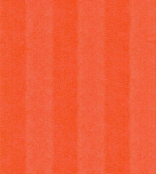 Rasch Pop Skin 7-482881 Knall-Orange Uni Schlangenhaut