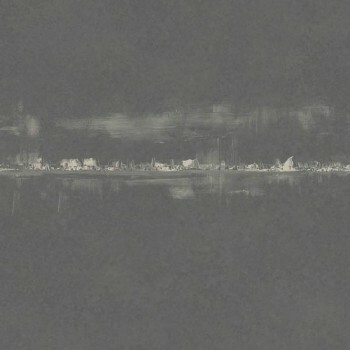 Vliestapete 36-UTA29649211 Casadeco – Utah Horizont dunkel-grau gold