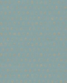 Eijffinger PIP Studio 55-375032, Vliestapete blau gold Marienkäfer