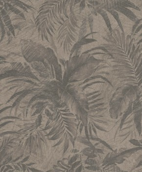 23-229096 Rasch Textil Abaca Tapete floral Muster braun Vlies