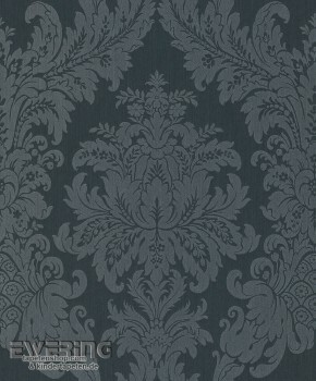 Rasch Textil Cassata 23-077222 Textiltapete Ornament anthrazit
