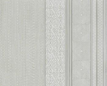 55-376020 Eijffinger Siroc hell-grau Tapete Vlies Streifen Muster