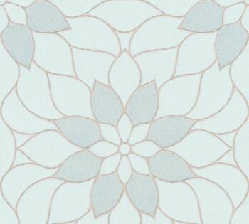 Vliestapete Neue Bude 2.0 AS Creation 8-3617-14, 361714 Blumen hell-blau