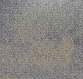 Grau Wandbild Gelb Karo-Muster 62-ODED192008 Tenue de Ville ODE
