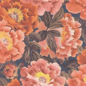 Vliestapete Blumen Rasch Tapete Kimono 408348