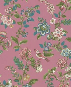 Eijffinger PIP Studio 55-375064, Vliestapete pink Blumen