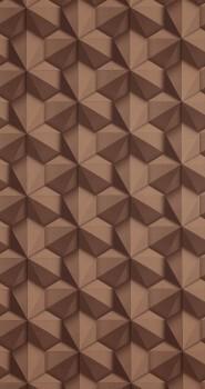 BN/Voca Loft 12-218416 Tapete grafisches Muster braun