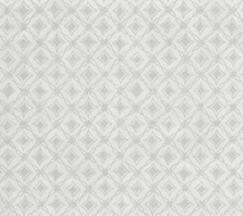 Vliestapete beige-graues Karo-Muster 29-88407 Limonta Luna Smita