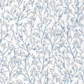 Blumen Blau Weiß