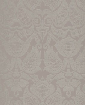 55-388773 Vliestapete Eijffinger Lounge Ornamente taupe silber