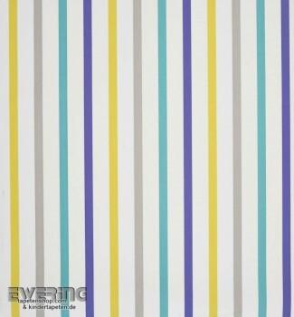 Caselio Vitamine 36-VTA62896020 creme-weiß Streifen Vlies Tapete