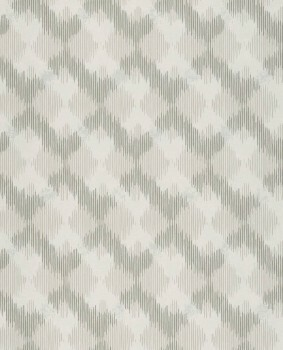 Eijffinger Siroc 55-376031 hell-beige Rauten Vlies Tapete glänzend