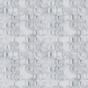 Muster Grau-Blau Vliestapete Tenue de Ville BALSAM 62-BLS200711