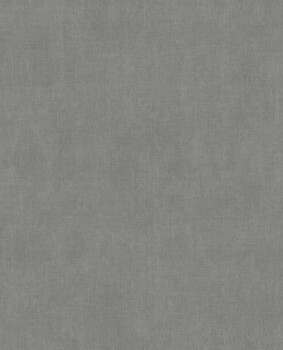 55-379073 Eijffinger Lino Vliestapete Mittelgrau silber Glanz Uni