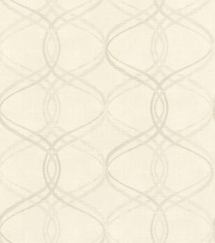 Ylvie 7-801620 Rasch Vliestapete beige grafisches Muster Glanz