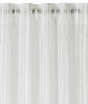 45-199067 Rasch home Fertigdeko Schlaufenband offwhite halbtransparent