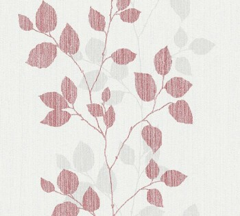 AS Creation Happy Spring 8-34761-2, 347612 Vlies Tapete rot-grau Ranken
