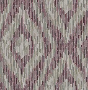 Gravity Rasch Textil 23-024218 Tapete Retromuster Streifen violett