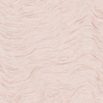 Wellenmuster Tapete Rosa Silber Tenue de Ville SAUDADE 62-SAU210308