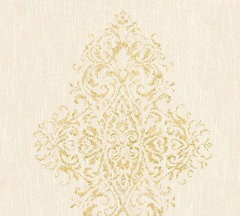 AS Creation Architects Paper Luxury Wallpaper 319452, 8-31945-2 Vliestapete beige gold