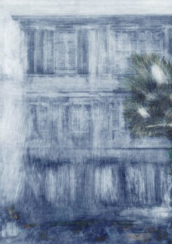 Gebäude Fototapete Havana Blau Tenue de Ville ODE 62-ODED190315