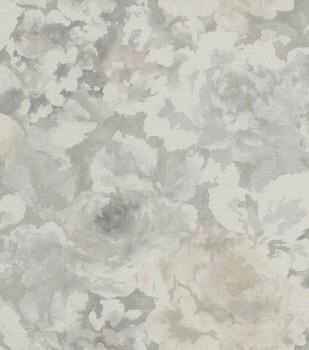 Rasch Florentine II 7-455632_L Vliestapete grau Wohnzimmer