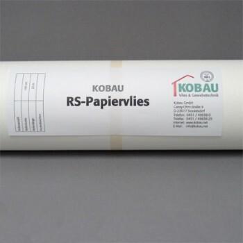 RS-Papiervlies 3-40820 Kobau Vlies 130 imprägniert Renovier-Vlies Back-Vliestapete glatt weiß innen Glattvlies Anstrichvlies