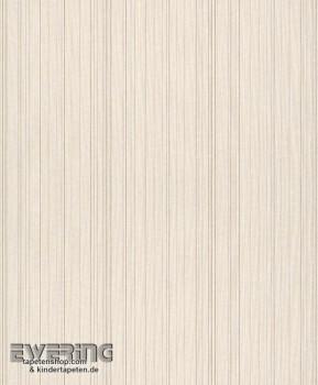 23-077505 Cassata Rasch Textil creme dünne Streifen Textil-Tapete