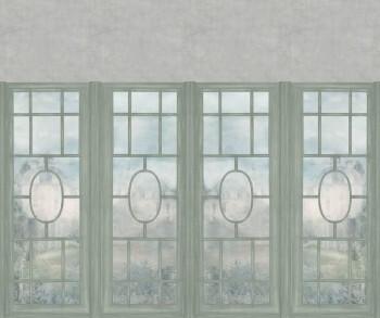 Wandbild Grün Fenster-Front Beige Tenue de Ville ODE 62-ODED190518
