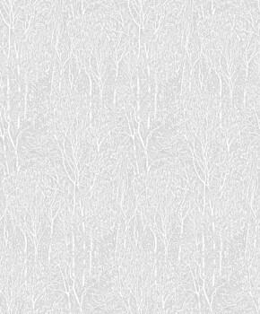 36-IRS68859093 Caselio - Iris Texdecor grau Vliestapete Bäume