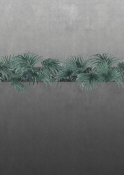 Pflanzen-Reihe Wandbild Grau-Grün 62-ODED190705 Tenue de Ville ODE