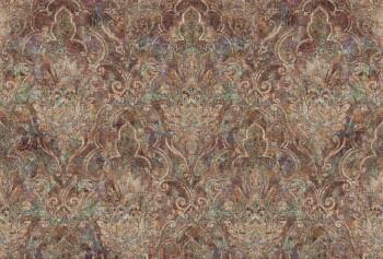 Bohemian 8-30242-7, 302427 Ornament Wand-Bild 3 Bahnen violett