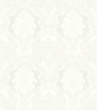 Ylvie 7-802405 Rasch Vliestapete Ornamente creme-weiß Glanz