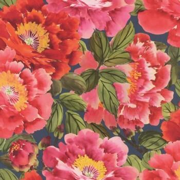 Vliestapete Blüten Rasch Kimono 408355