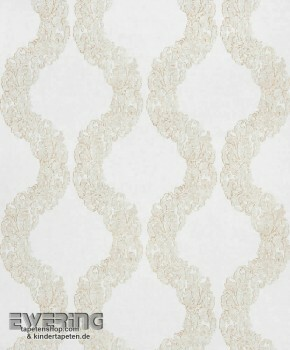 36-MAJ26422113 Casadeco - Majestic Texdecor Vlies Ornament creme