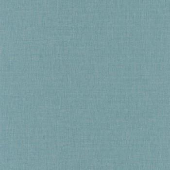 Tapete Mittelblau Uni Caselio - Linen II 36-LINN68526355