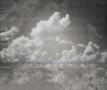 Strich Wolken Grau Blau Matt Tenue de Ville BALSAM 62-BLD201507