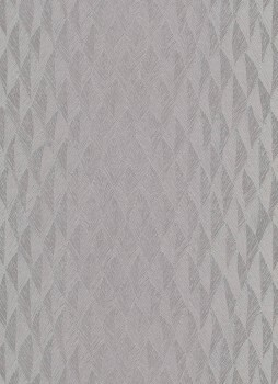 Tapete silber-graues Rautenmuster 33-1004937_L Fashion for Walls