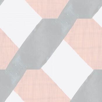 Wandbild Muster Rosa Grau Vlies Tenue de Ville SPICE 62-SPID230611